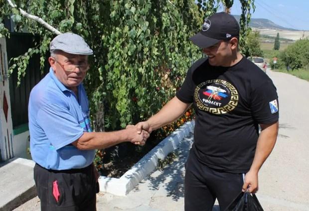 «Доброволец» и «Здоровые силы Севастополя» провели рейд программы Всероссийской акции «Мы вместе»
