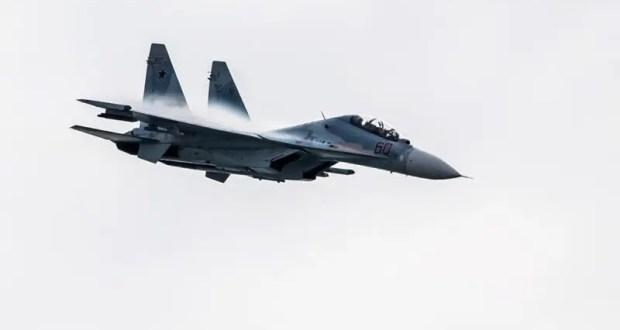 Российский Су-30 перехватил самолёт-разведчик США над Чёрным морем