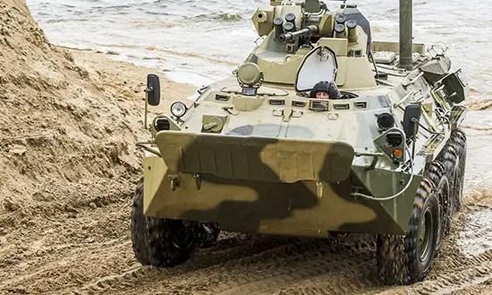 В Крыму началось учение подразделений армейского корпуса и морской пехоты Черноморского флота