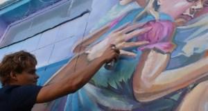 Крымский художник расписал стены Симферопольского СИЗО