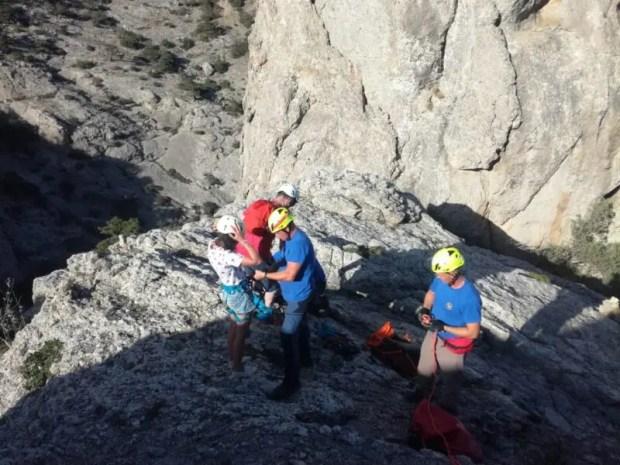 «КРЫМ-СПАС» снимал с горы Сокол, в Судаке молодых туристов