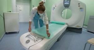 В севастопольской инфекционной больнице установили новый томограф
