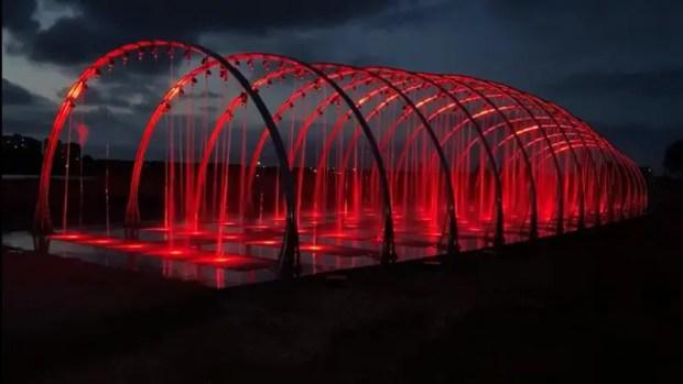 В Саках, практически, завершено строительство двух из пяти участков набережной вдоль соленого озера