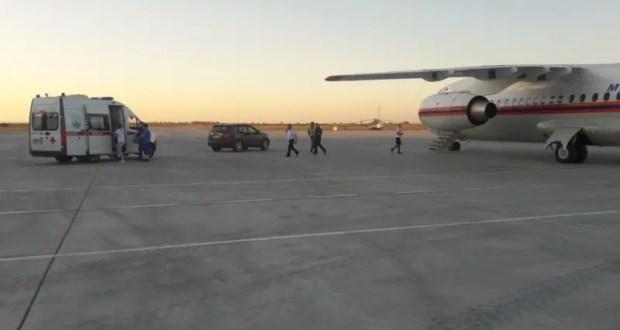 Из Севастополя в Москву: спецборт МЧС доставил ребёнка с серьёзной травмой внутренних органов