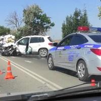 ДТП под Саками, на трассе «Симферополь – Евпатория»