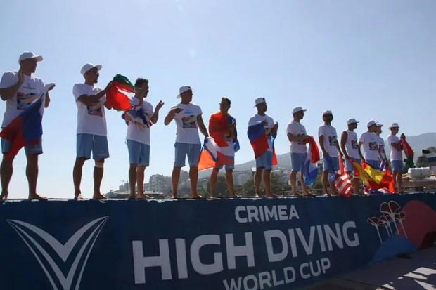 Кубок мира по хай-дайвингу CRIMEA HIGH DIVING WORLD CUP 2020 снова у Гэри Ханта