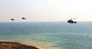 Авиация ЮВО уничтожила колонну бронетехники условного противника в Крыму
