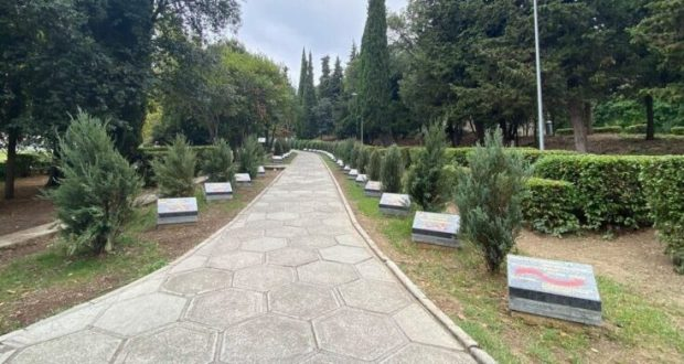 В парке Ливадийского дворца теперь есть «Аллея Славы»