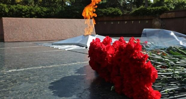 В Симферополе почтили память павших в годы Второй мировой войны