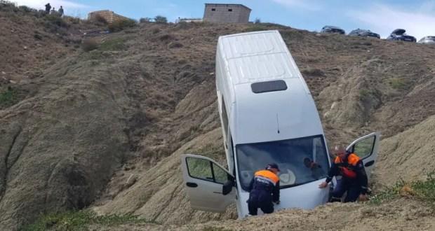 Происшествие в бухте Капсель: со склона сорвалась «ГАЗель» с пассажирами
