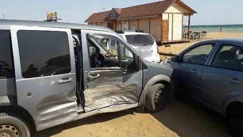 ДТП на трассе «Феодосия-Керчь»: столкнулись три автомобиля