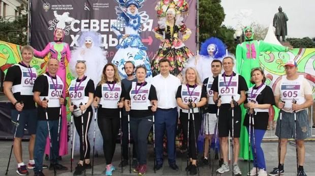 В Ялте состоялся региональный этап проекта «Северная ходьба – новый образ жизни»