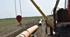 Как прокладывают газопровод в Нижнегорском районе Крыма