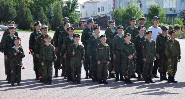 В Евпатории - Вахта памяти поколений «Пост №1»