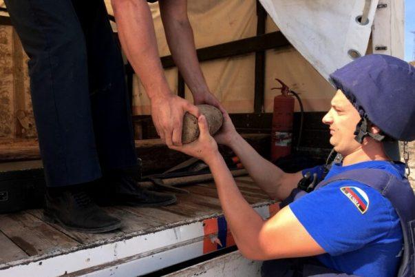 В Севастополе вблизи музея «Диорама «Штурм Сапун-горы» нашли боеприпас времён ВОВ