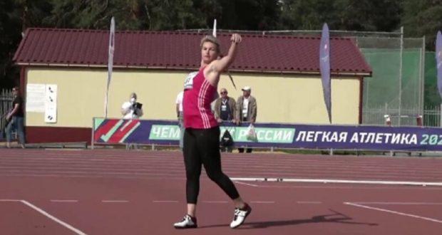 Чемпионка России в метании копья? Вера Маркарян (Ребрик) из Ялты!