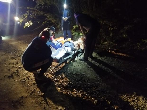ДТП в районе Партизанского водохранилища – перевернулась «Нива», двое пострадавших