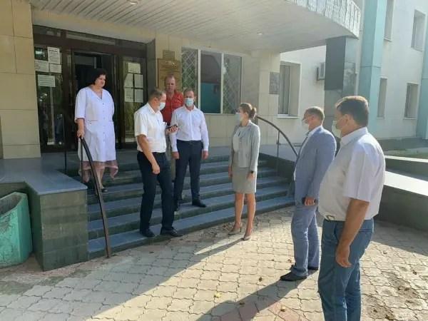 «Ковидный» госпиталь в Армянске безопасен для горожан