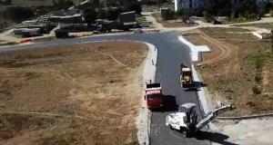 В октябре строители обещают сдать дорогу «Скворцово – Лекарственное»