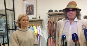 В Крым приехал итальянский дизайнер и модельер Роберто Биаджини