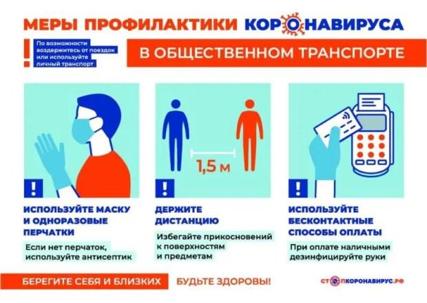 В общественном транспорте Крыма – не просто масочный, а еще и перчаточный режим