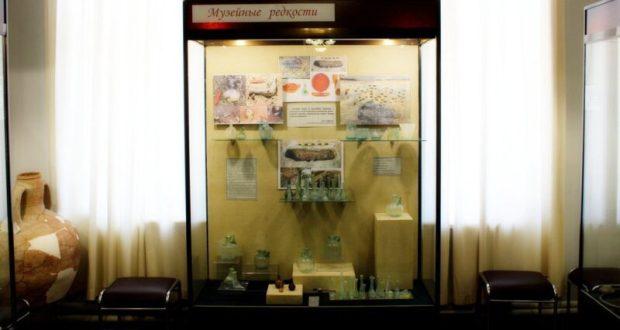 В керченском Историко-археологическом музее - выставка находок археологической экспедиции