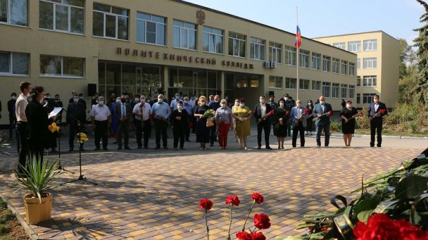 В Крыму почтили память погибших в Керченском политехническом колледже