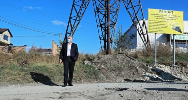 Сергей Аксёнов проверил объекты строительства Симферополя и Симферопольского района