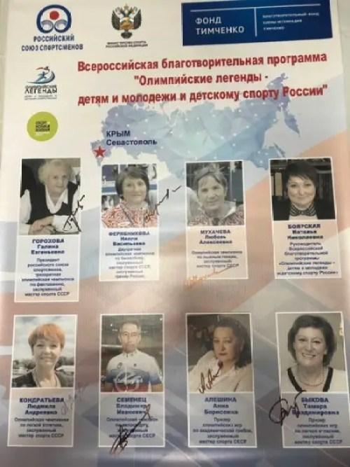 В Симферополь прибыли Олимпийские чемпионы СССР