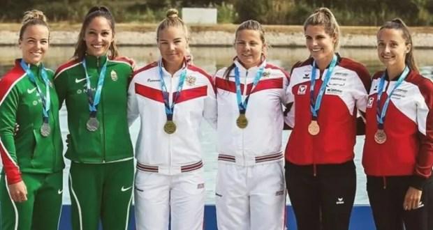 Анастасия Долгова из Севастополя - победитель Кубка мира по гребле на байдарках