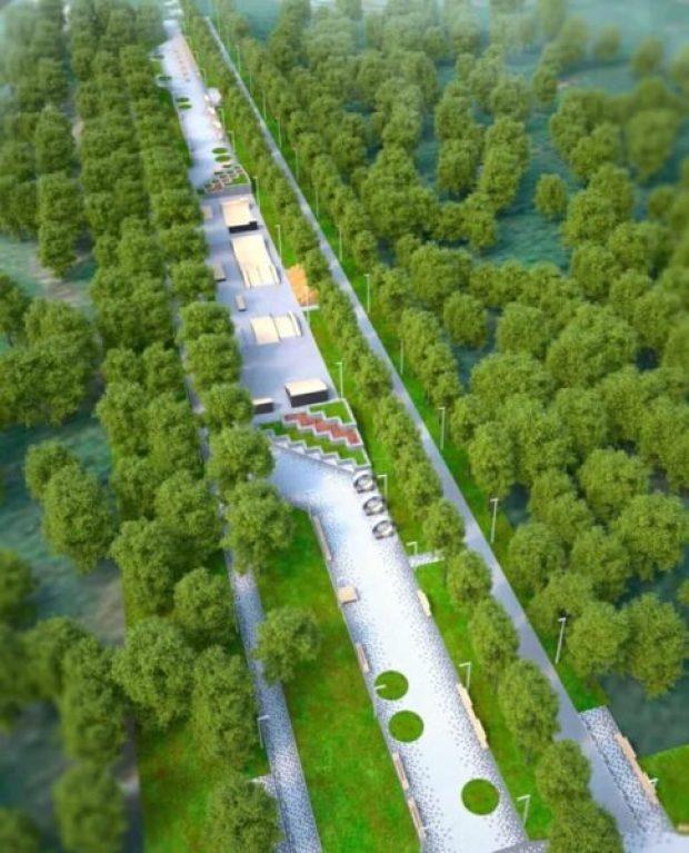 В Евпатории построят скейт-парк и не абы где, а в обновленном Мойнакском парке
