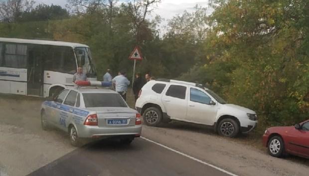 ДТП в Красногвардейском районе: столкнулись «Киа Рио» и автобус. Погиб водитель легковушки