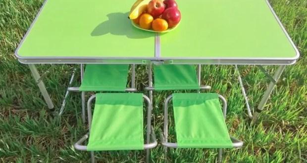 Складные туристические столы: важность туристического инвентаря
