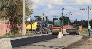 В Керчи продолжается ремонт дорог
