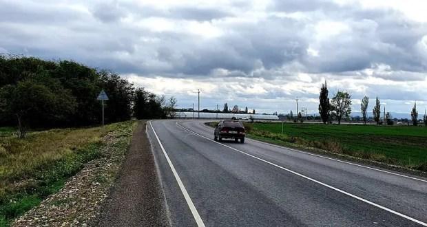 Досрочно завершен ремонт дороги «Нижнегорский – Белогорск»