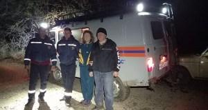 Поздно вечером в Белогорском районе «КРЫМ-СПАС» искал двоих заблудившихся туристов