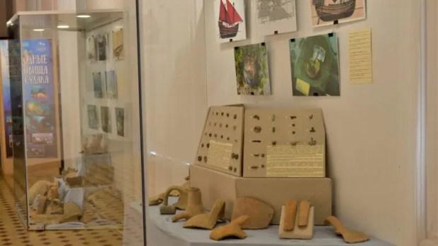 В Центральном музее Тавриды - выставка «Подводные сокровища Судака»