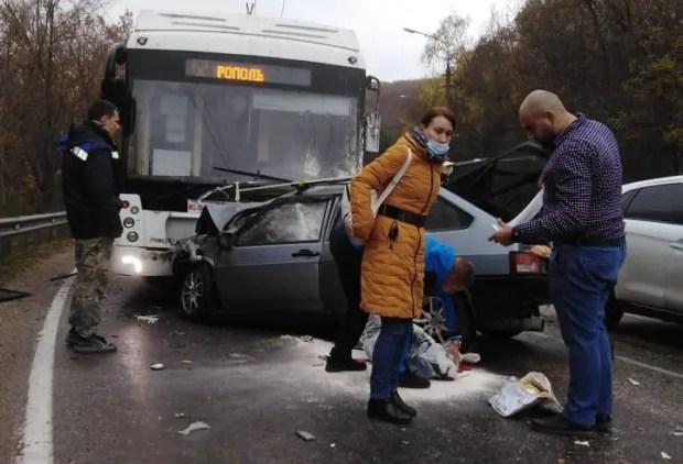 Страшное ДТП на трассе «Симферополь – Алушта»: четверо погибших