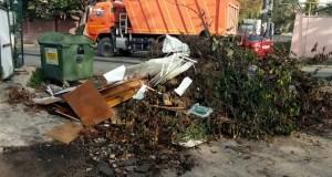 За неделю в Симферополе ликвидировали почти два десятка стихийных свалок-навалов