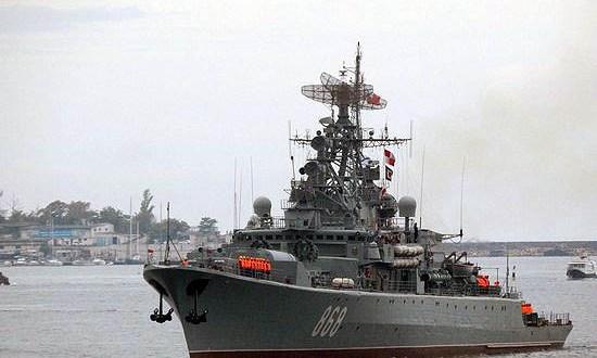 Сторожевой корабль ЧФ «Пытливый» провёл учение по ведению боя в акватории Чёрного моря