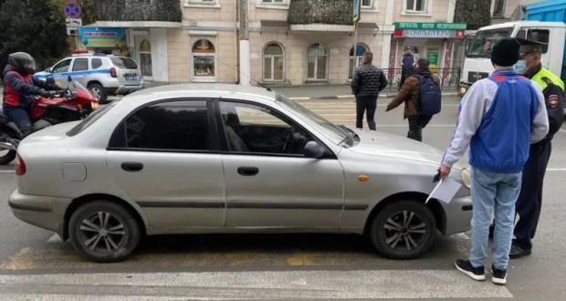 В Ялте полиция проводят проверку по факту ДТП с участием несовершеннолетних пешеходов