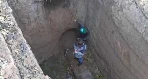 В Симферополе спасали мальчишек - не могли выбраться из траншеи