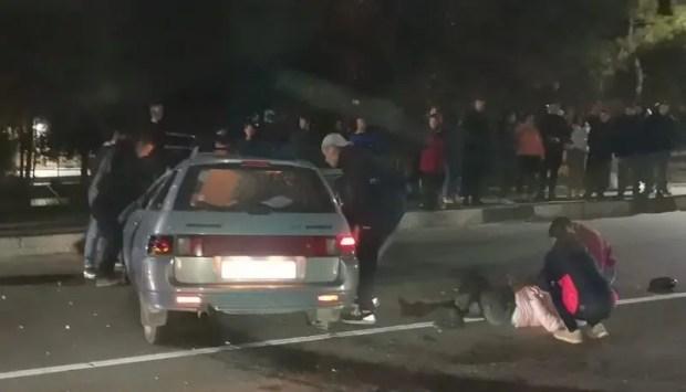 Вечернее ДТП в Бахчисарае: пятеро пострадавших, а том числе двое детей