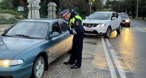 В Севастополе ловили нетрезвых водителей