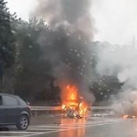 В ДТП под Алупкой сгорел 20-летний водитель ВАЗа