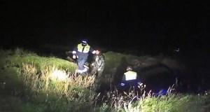 Погоня в Черноморском районе Крыма. От наряда ГИБДД пьяный нарушитель не ушел