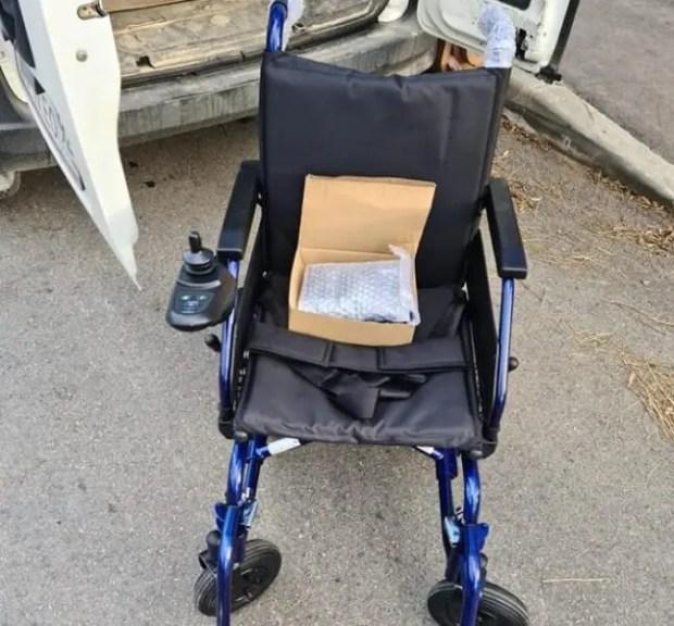 Севастопольский «Доброволец» и его единомышленники помогли инвалиду-колясочнику
