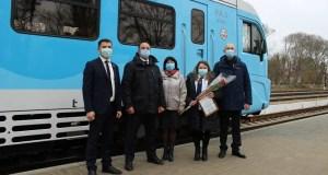 В Крыму после капремонта открыта пассажирская платформа на железнодорожной станции Краснофлотская