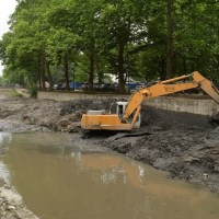 Неожиданно возбуждено уголовное дело, в связи с нарушениями при расчистке русла реки Салгир в Симферополе