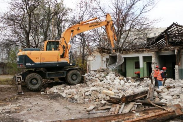 В Севастополе строят дополнительный корпус школы № 54